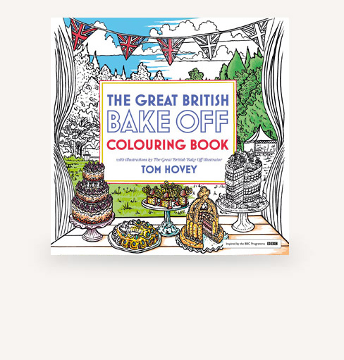 The Great British Bake Off - Series 7 Colouring book