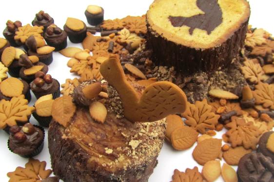 Bake Off Squirrel Cake