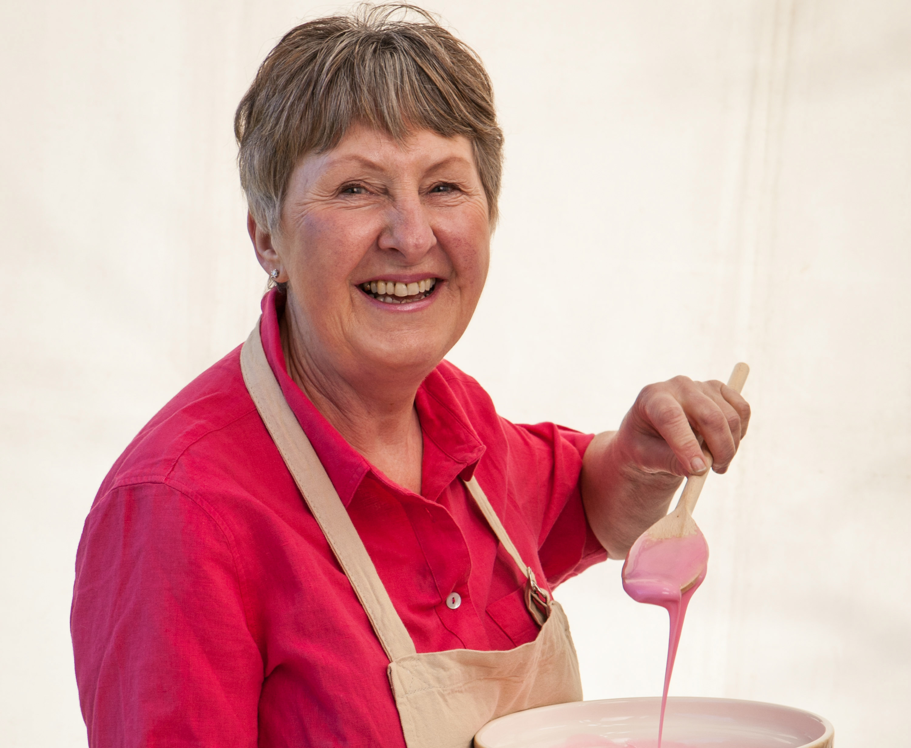 WARNING: Embargoed for publication until 00:00:01 on 16/08/2016 - Programme Name: The Great British Bake Off 2016 - TX: n/a - Episode: n/a (No. n/a) - Picture Shows: **NOT FOR PUBLICATION BEFORE 00:01 HOURS TUESDAY 16TH AUGUST 2016** Val - (C) Love Productions - Photographer: Mark Bourdillon