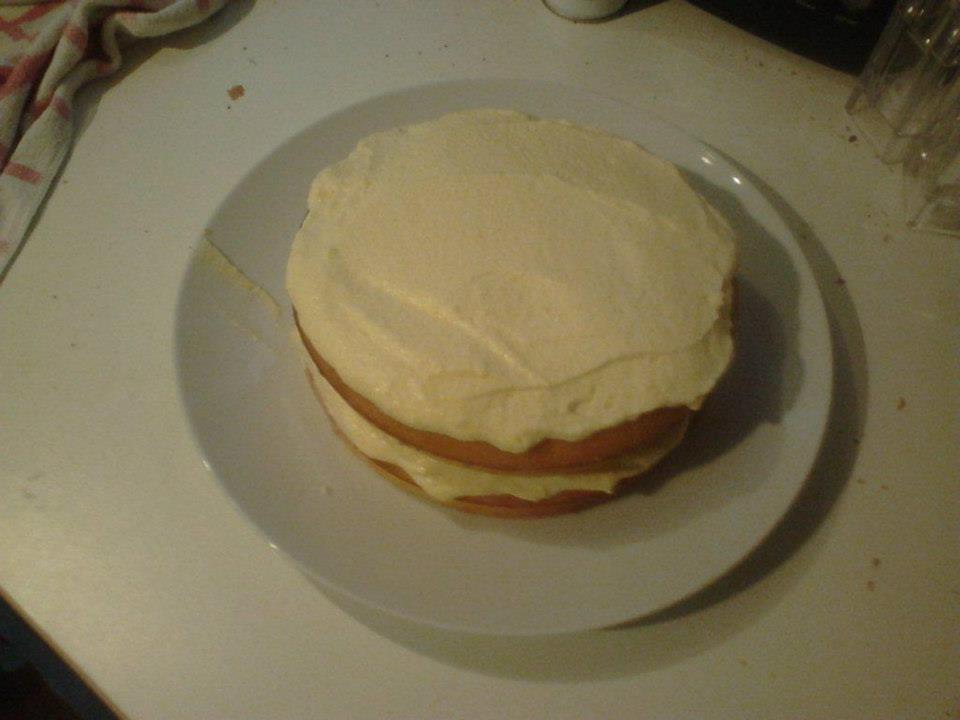 Orange Layer Cake The Great British Bake Off
