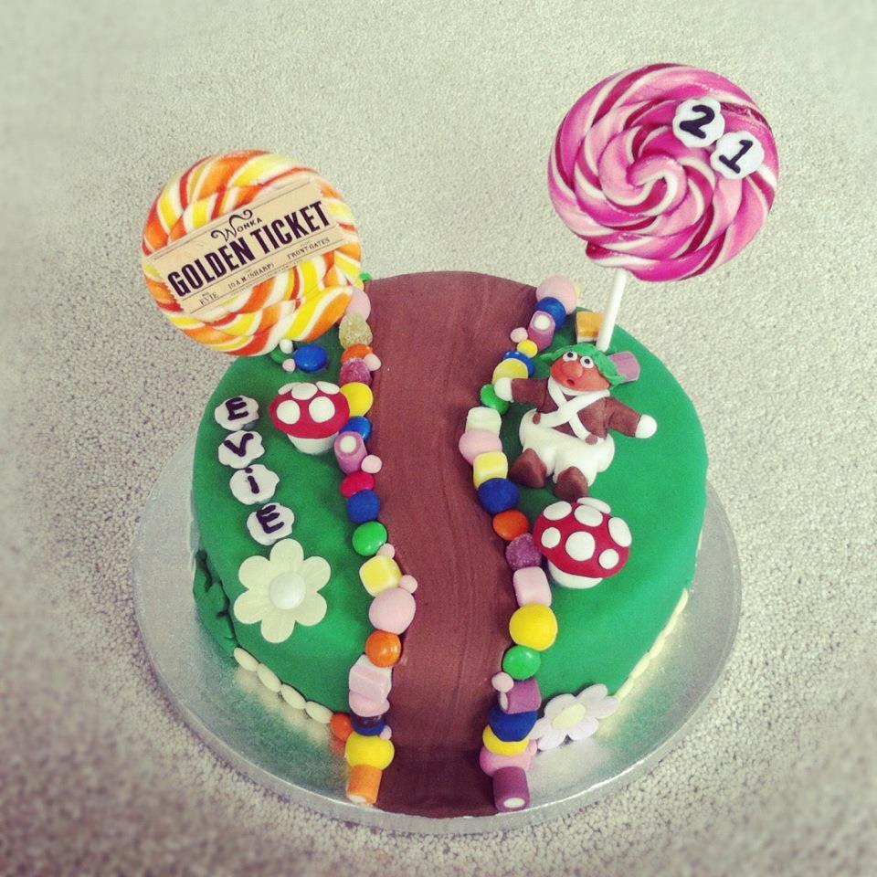 Willy Wonka Birthday Cake The Great British Bake Off