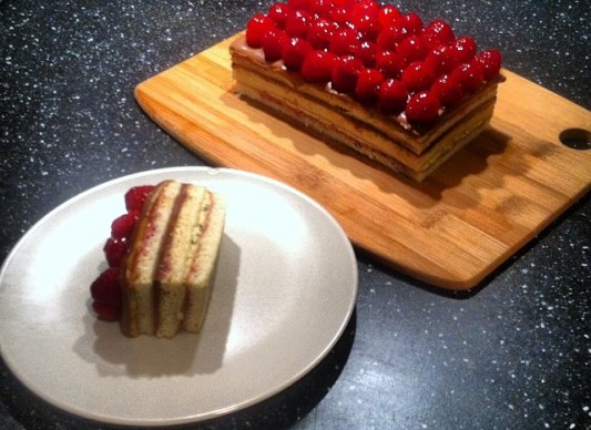 Great Cake Recipes Uk: Opera Cake Recipe British Bake Off