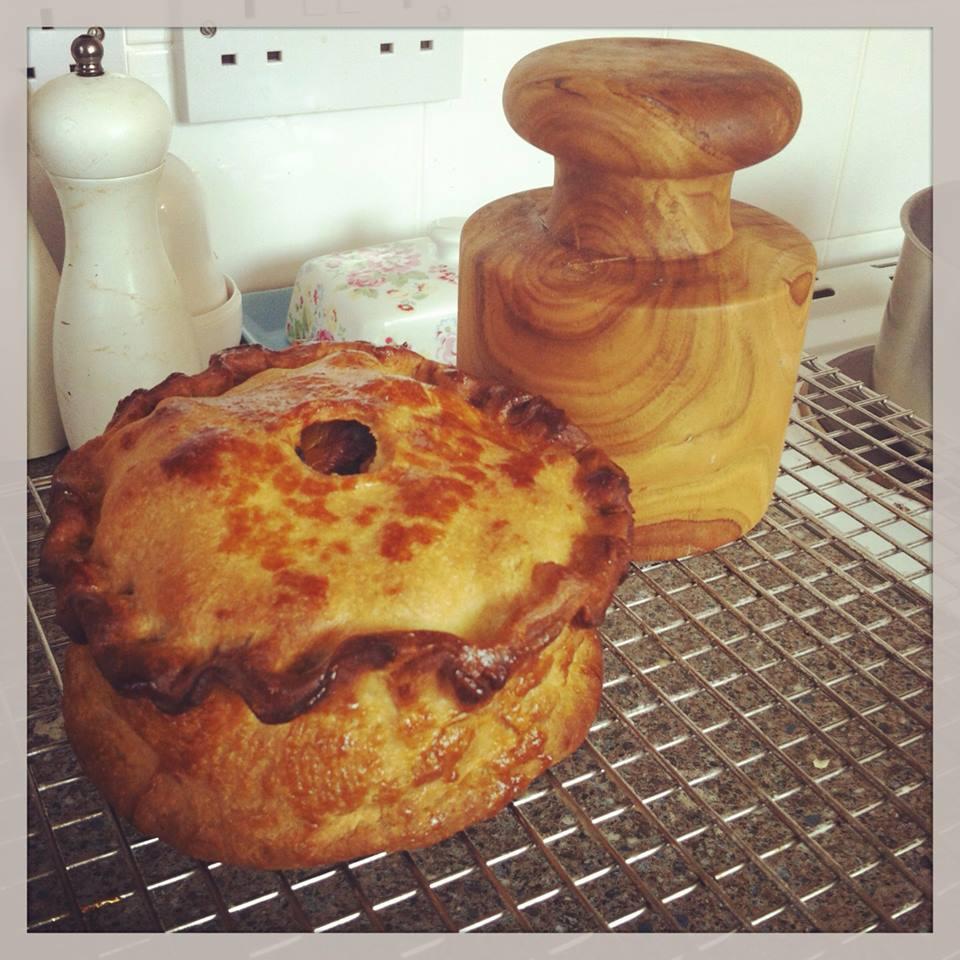 Hand Raised Chicken Pie The Great British Bake Off