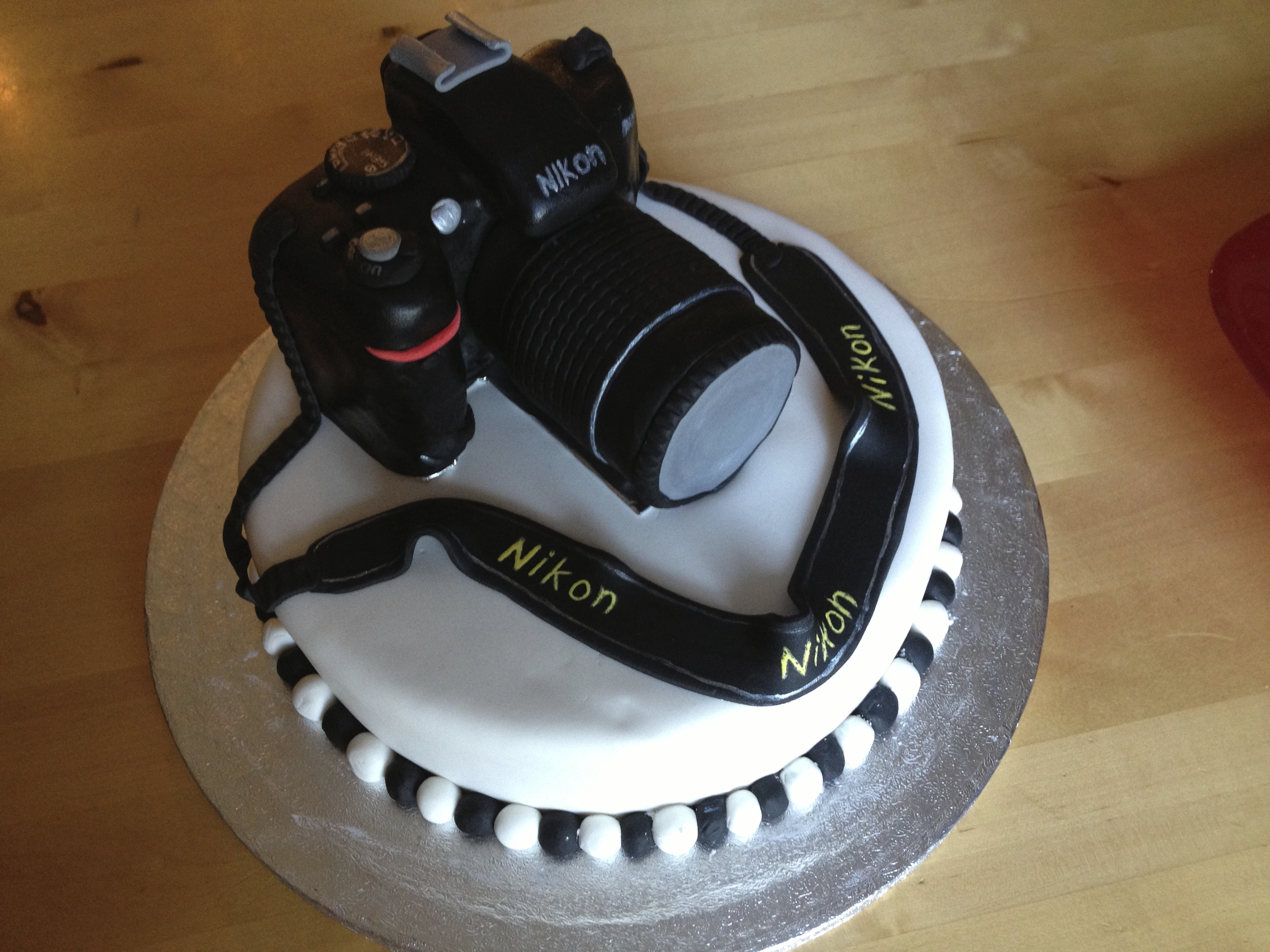 18th Birthday Camera Cake The Great British Bake Off