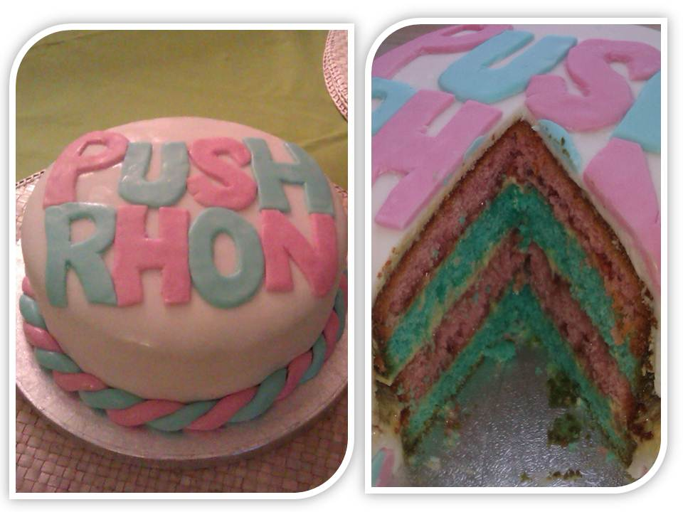 Baby Shower Cakes Cardiff ~ Rhonwen s baby shower cake the great british bake off