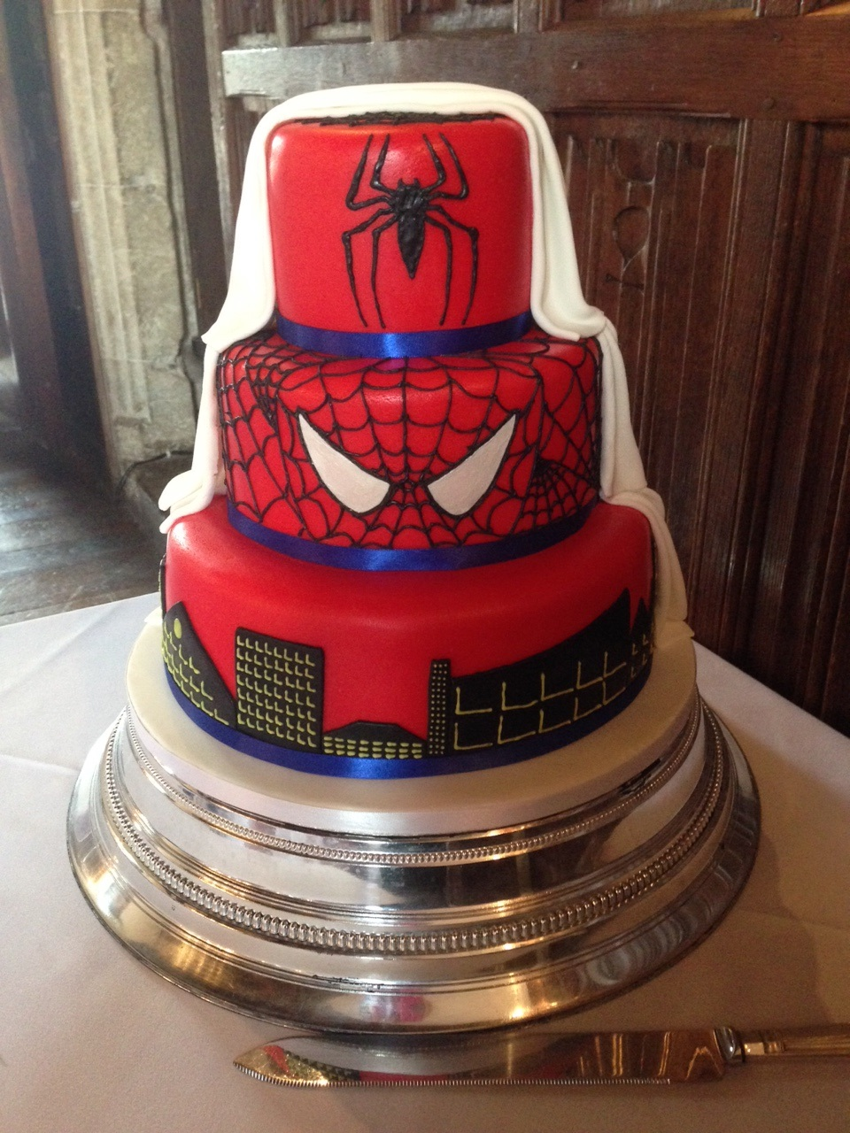 How To Bake A Spiderman Cake