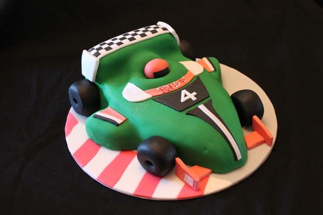 Racing Car Cake  The Great British Bake Off