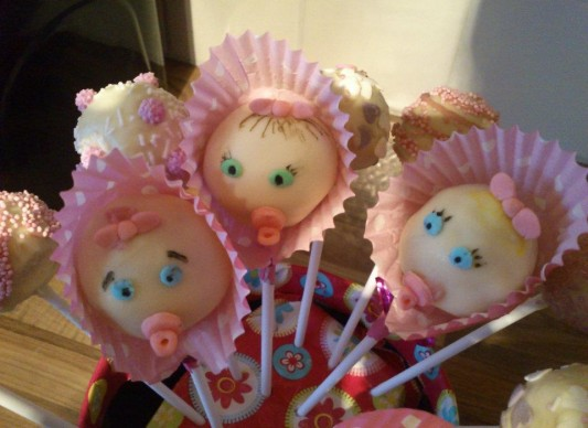Baby Shower Cakes Victoria Bc ~ Baby cakes pops the great british bake off