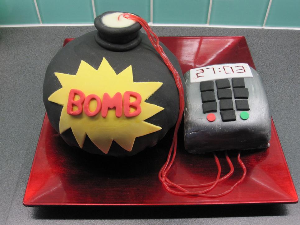 Bomb Cake The Great British Bake Off