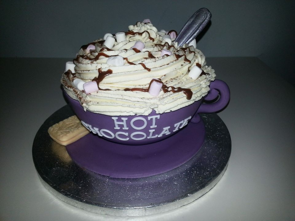 Hot Chocolate Cake | The Great British Bake Off