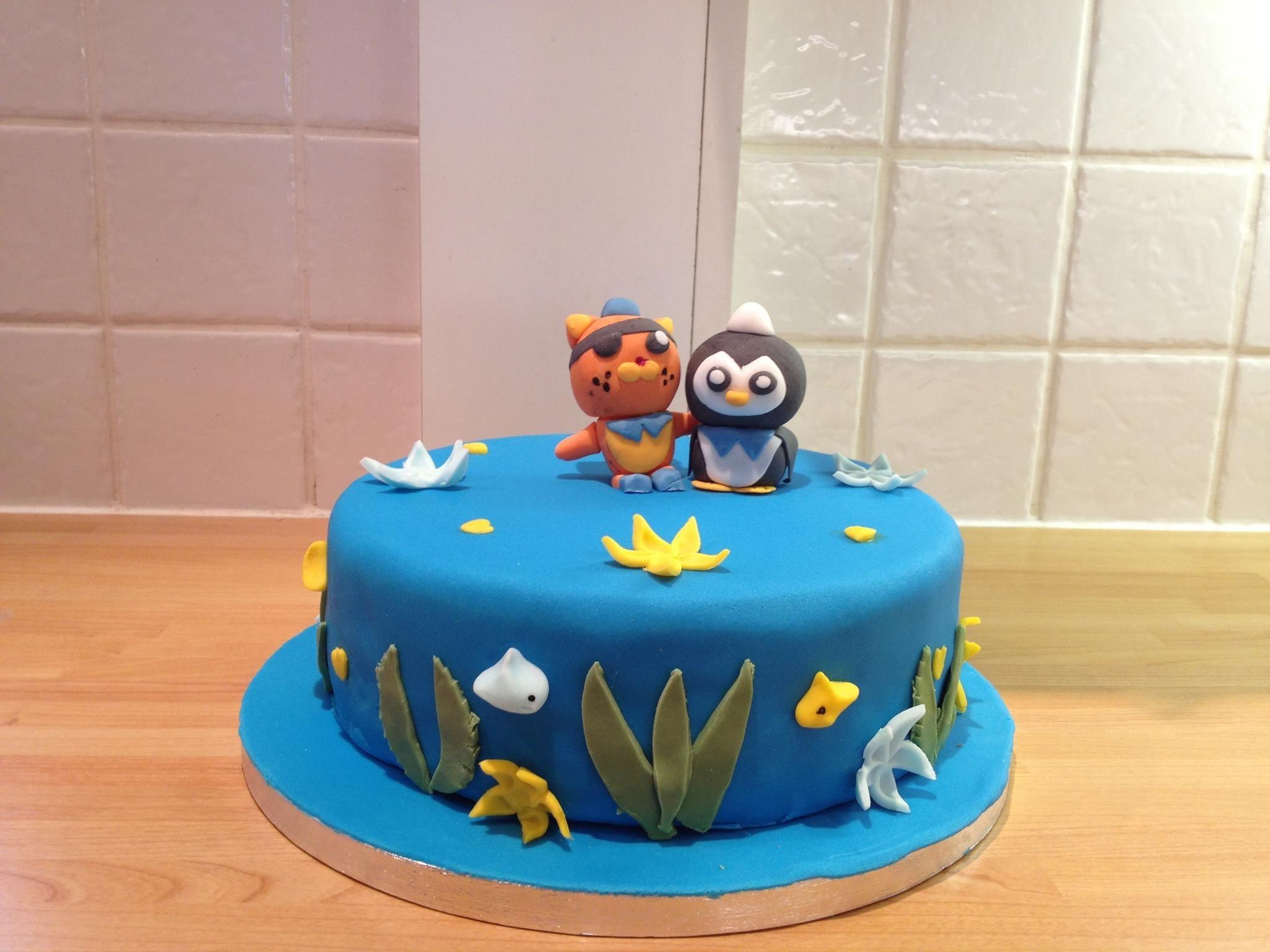 Octonauts Cake Decorations Uk : Octonauts Birthday Cake The Great British Bake Off