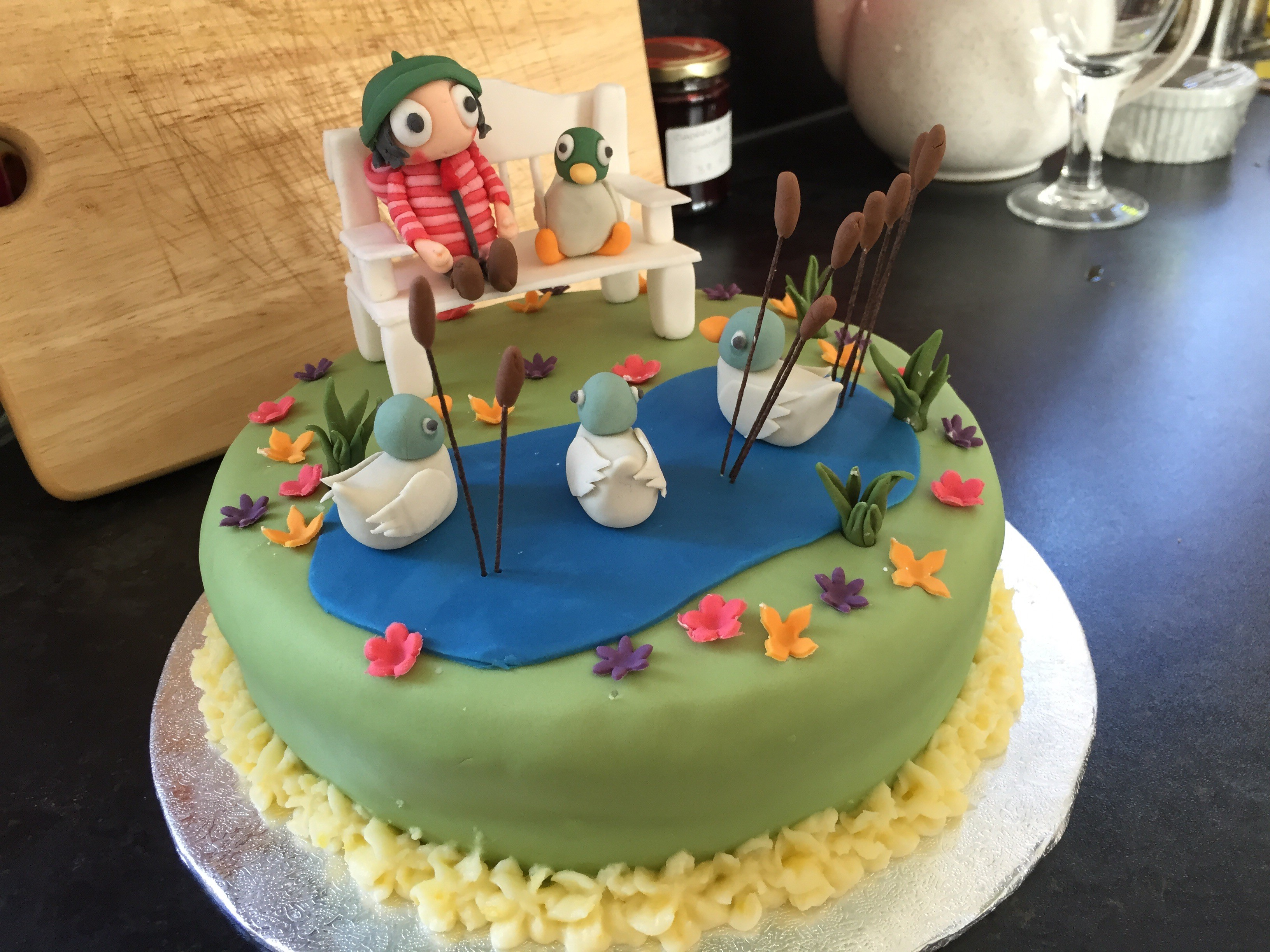 Sarah And Duck Cake Bake