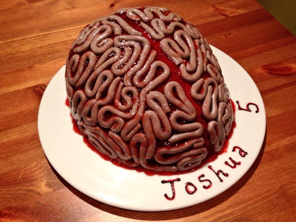Brain Cake Great British Bake Off