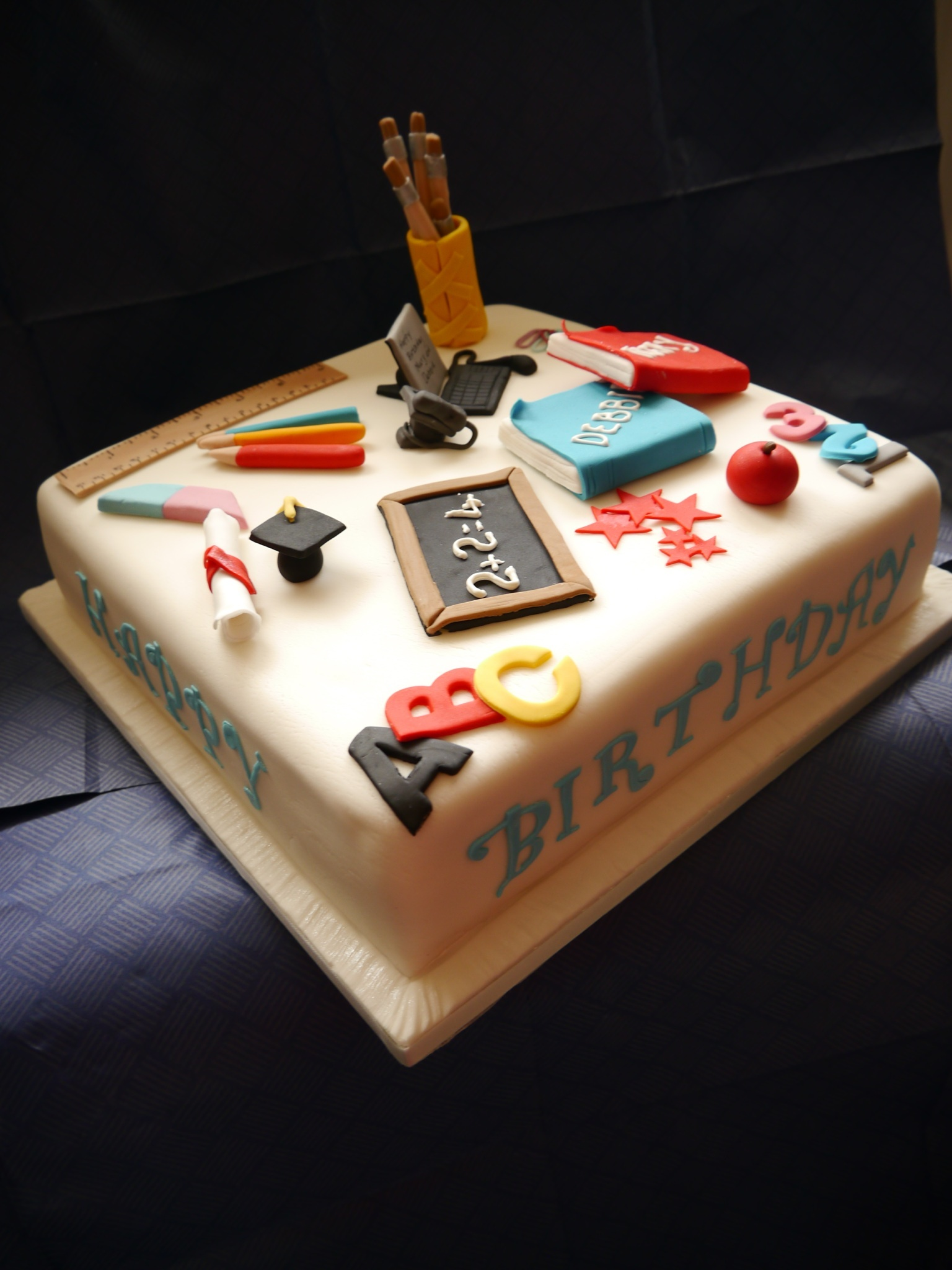 Best Cake Design Schools : School leaving cake The Great British Bake Off