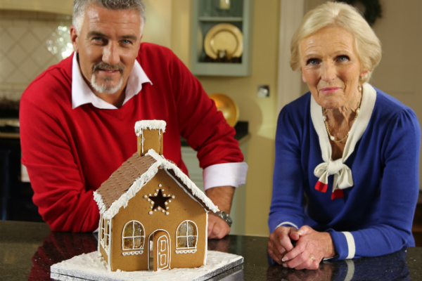 Mary Berry S Gingerbread House The Great British Bake Off