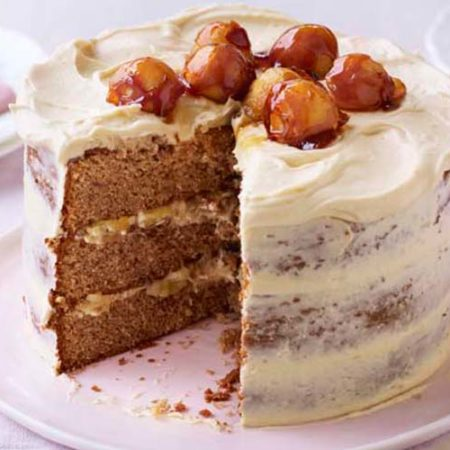 Orange Chocolate Cake British Bakeoff