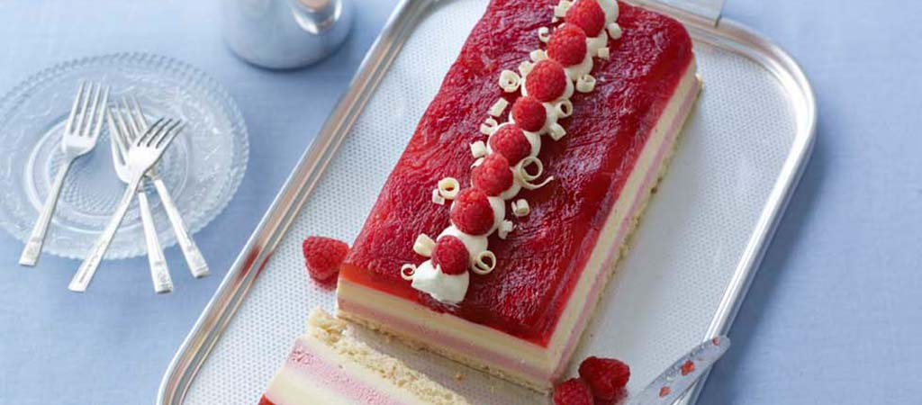 Kate's Raspberry Trifle Terrine