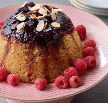 Stacey's Bakewell Steamed Pudding