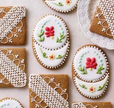 Prue Leith's Iced Ginger Biscuits