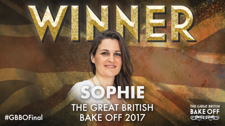 And the winner is… Sophie | The Great British Bake Off