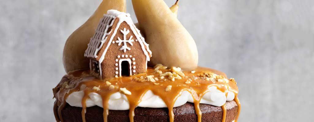Caramel Cake Recipe Joy Of Baking: Kim-Joy's Stem Ginger Cake With Cream-cheese Frosting