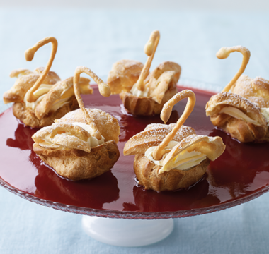 Prue Leith's Choux Swans
