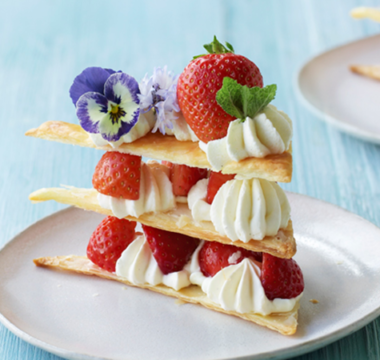 Ruby's Summer Millefeuille