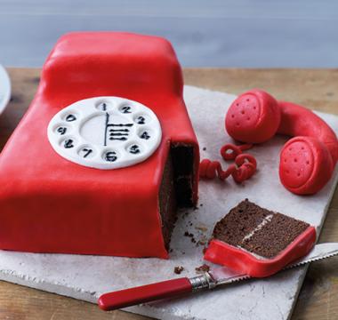 Steven's Telephone Cake