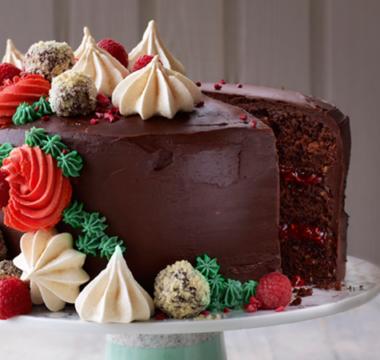Briony's Hazelnut Mocha Cake