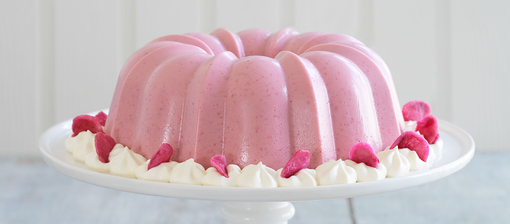Prue Leith's Raspberry Blancmange | The Great British Bake Off