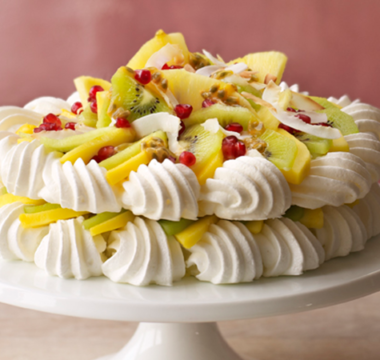 Prue Leith's Vegan Tropical Pavlova