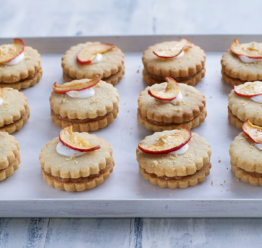 Briony's Apple Cider Empire Biscuits