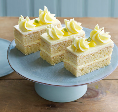 Rahul's Lemon Traybake with Lemon & Cardamom Drizzle