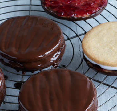 Paul Hollywood's Wagon Wheels Biscuits