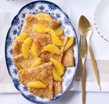 Paul Hollywood's Crepe Suzette