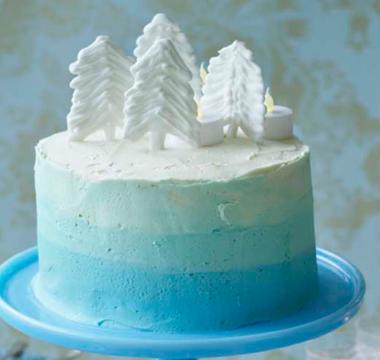 Rav's 'Frozen' Fantasy Cake