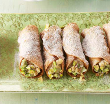 Liam's Cannoli with Baklava Filling