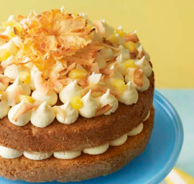 Sophie's Pineapple & Coconut Sandwich Cake