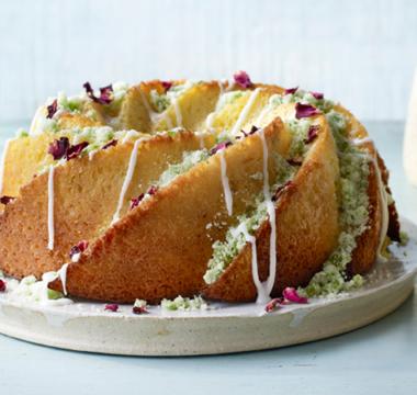 Rosie's Limoncello & Basil Cake