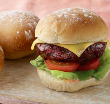 Paul Hollywood's Floury Baps & Veggie Burgers