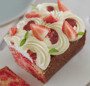 Selasi's Strawberry Swirl Ritz Pound Cake