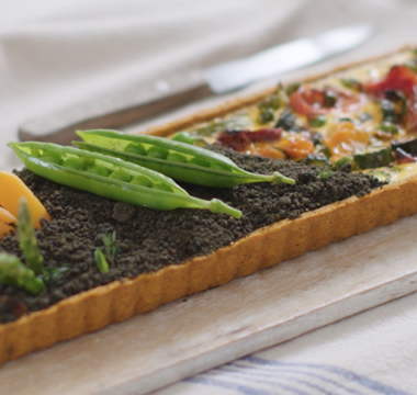Selasi's Vegetable Patch Savoury Tart