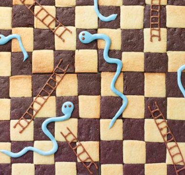 Sophie's Snakes & Ladders Biscuit Board Game