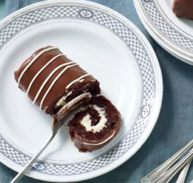 Prue Leith's Chocolate Mini Rolls