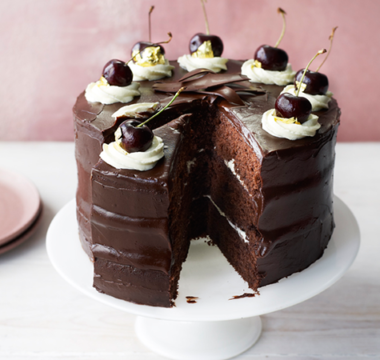 Steph's Black Forest Chocolate Cake
