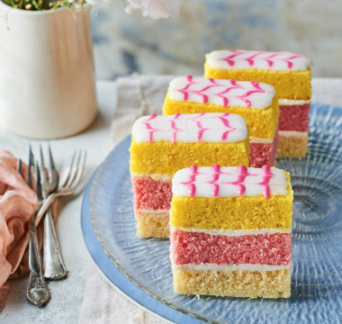 Prue Leith's Angel Cake Slices