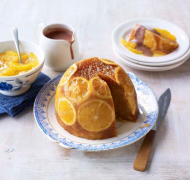 James's Steamed Orange & Ginger Pudding