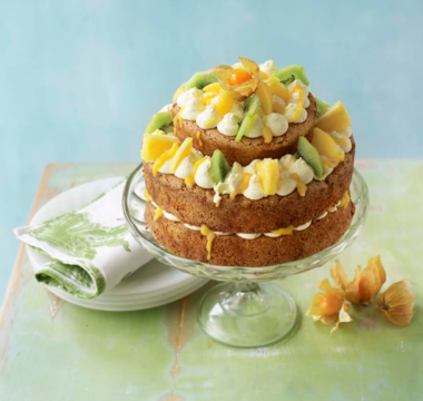 Chris's Tropical Fresh Fruit Cake