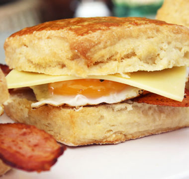 Liam Charles's Breakfast Sarnie