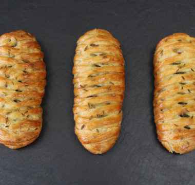 Prue Leith's Veggie Sausage Plaits